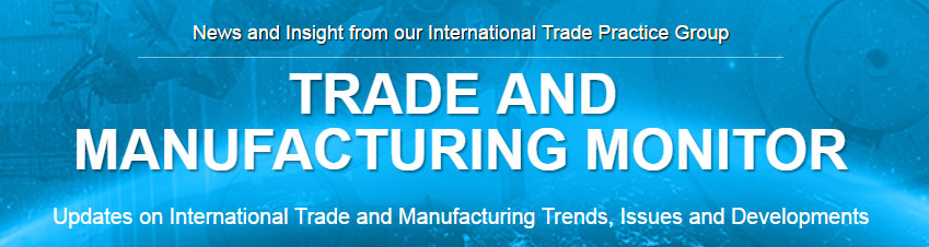 Go to Trade and Manufacturing Monitor